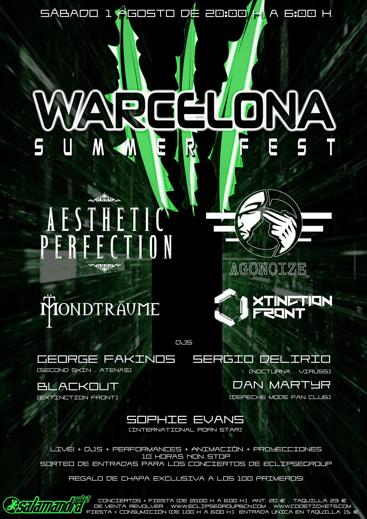 WARCELONASUMMERFEST2015