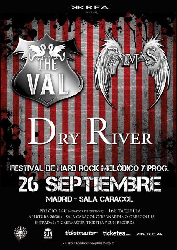 TheVals_Madrid_26-9-15_Cartel