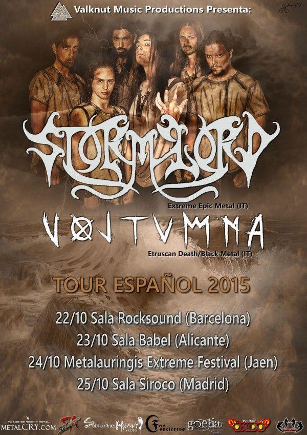 STORMLORDtour