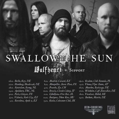 Swallow the Sun _ tour2015