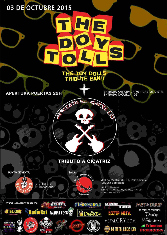 Xx CARTEL DOY TOLLS + APRIETA EL GATILLO 03-10-2015 (1)