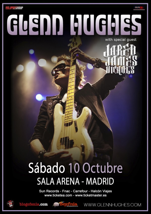 cartel glenn hughes madrid 10102015