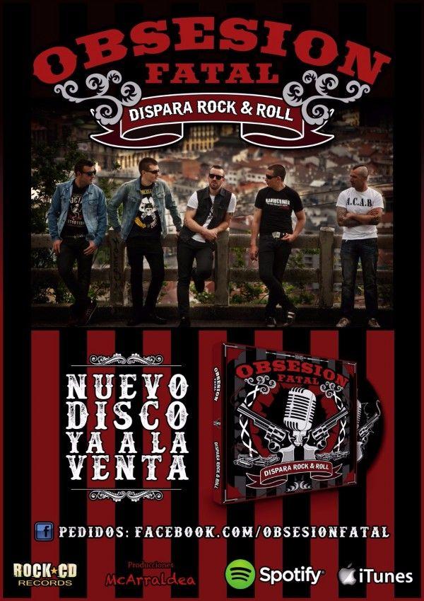 Cartel promocional nuevo disco OF