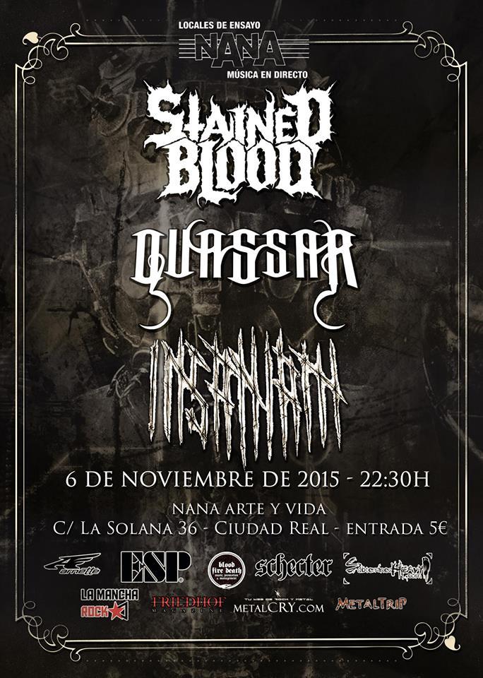 cartel Nana 6 noviembre