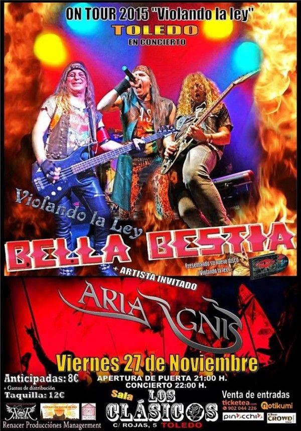 BellaBestia_Toledo_27-11-15_Cartel