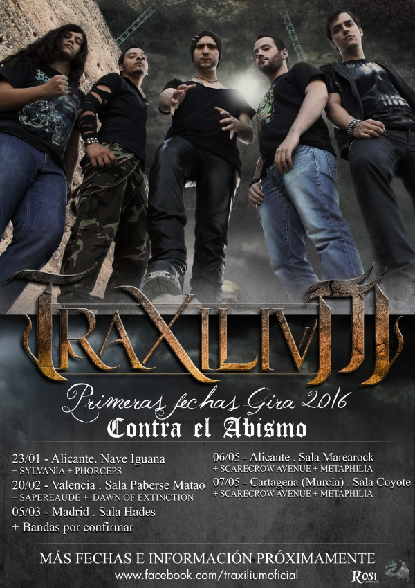 Fechas Gira 2016 traxilium