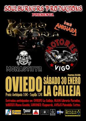 Pacho Brea - Motores - Monasthyr Oviedo