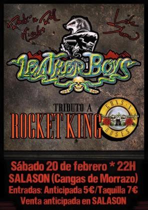 Leather boys - rocket king 2