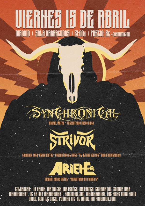 Strivor_Madrid_15-3-16_Cartel