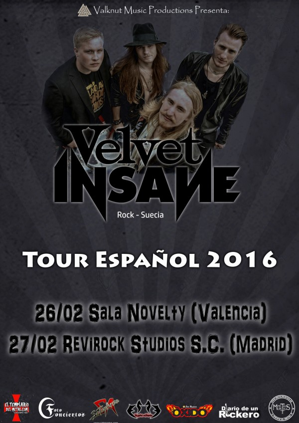 VELVET INSANE TOUR