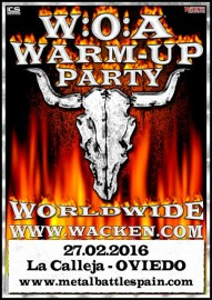 WOA Warm-up party