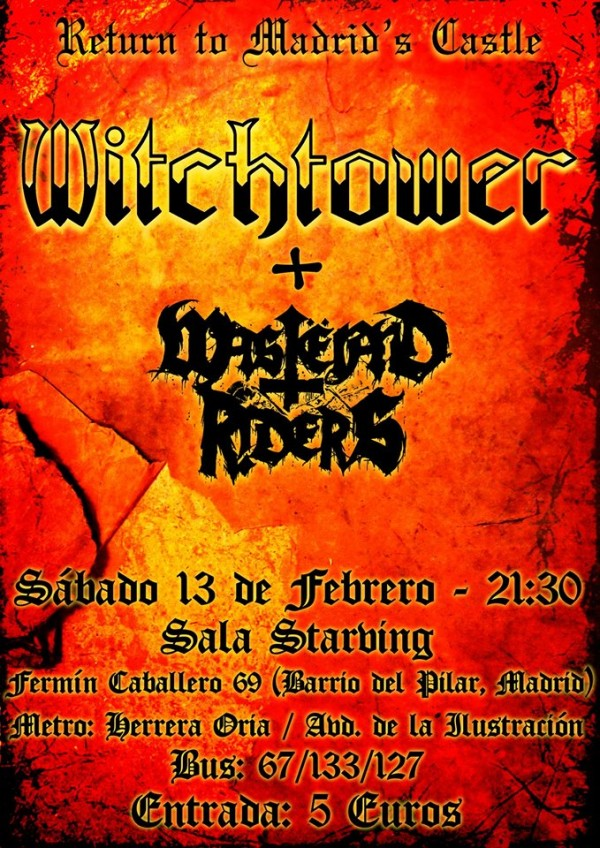 Witchtower_Madrid_13-2-16_Cartel