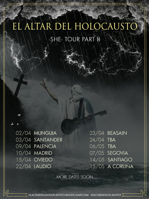 EL ALTAR DEL HOLOCAUSTO -SHE- TOUR PART II
