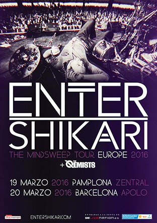 entershikari+theqemist mailing