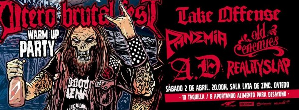 Otero Brutal Fest Warm up party