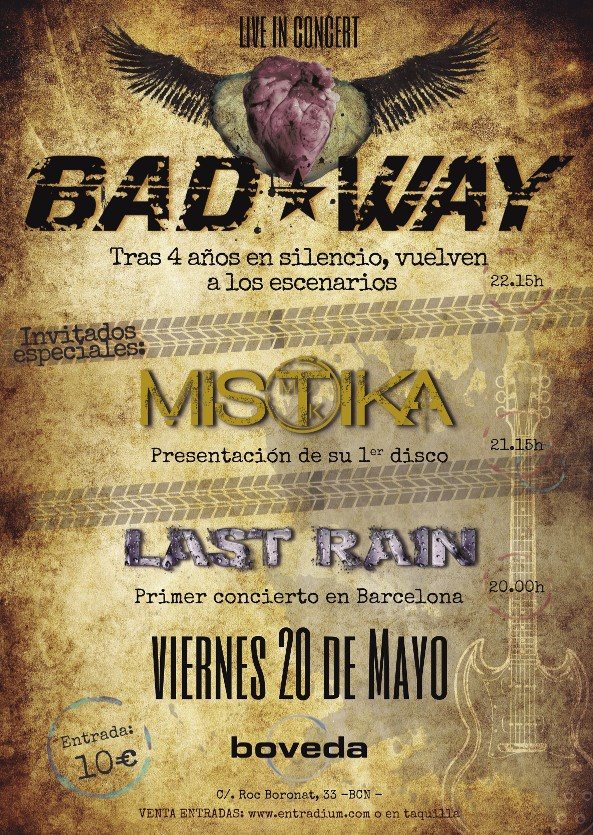 cartel bad way boveda