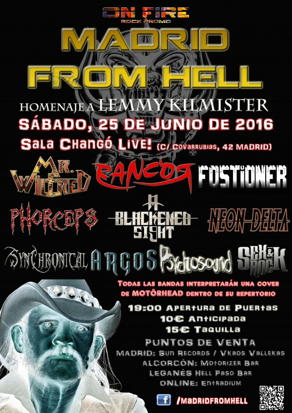 Cartel Definitivo madrid from hell