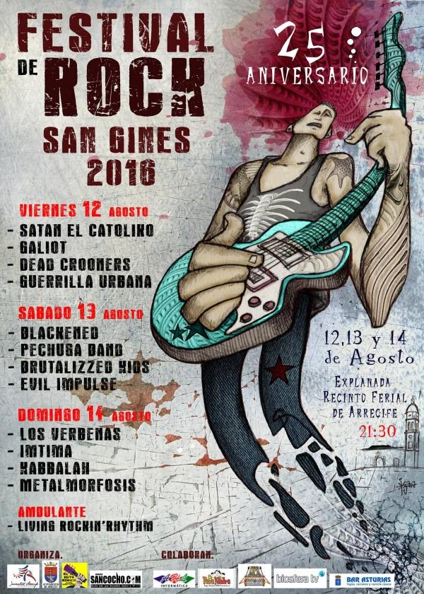 Cartel Festival Rock San Gines