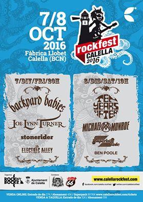 calella rockfest 2016