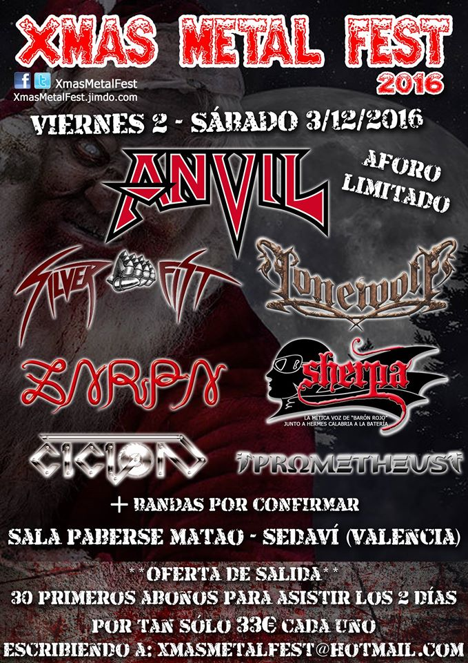 XMAS METAL FEST 2016