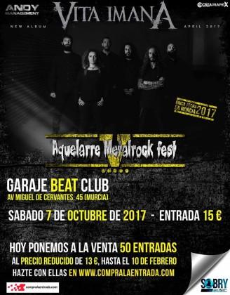 AQUELARRE METAL FEST 2017