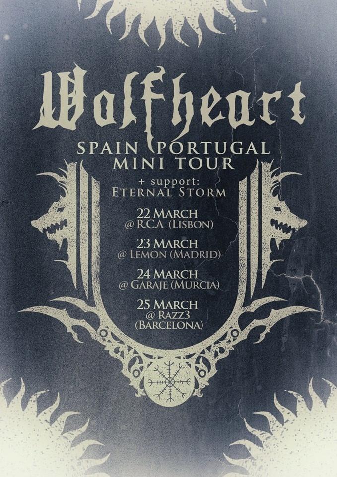 Wolfheart & Eternal Storm Iberian Tour 2017
