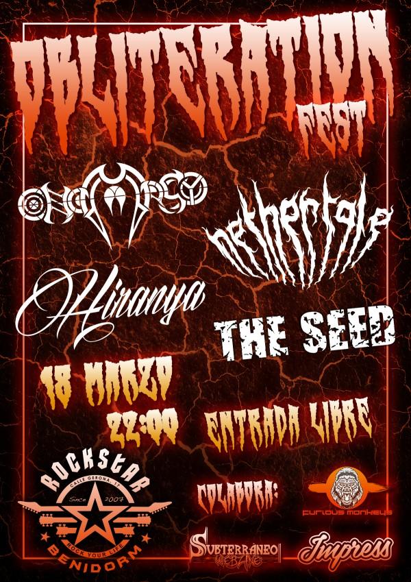 Obliteration Fest - 18.03.17 - Web