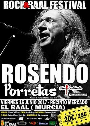 ROSENDO, ROCK&RAAL