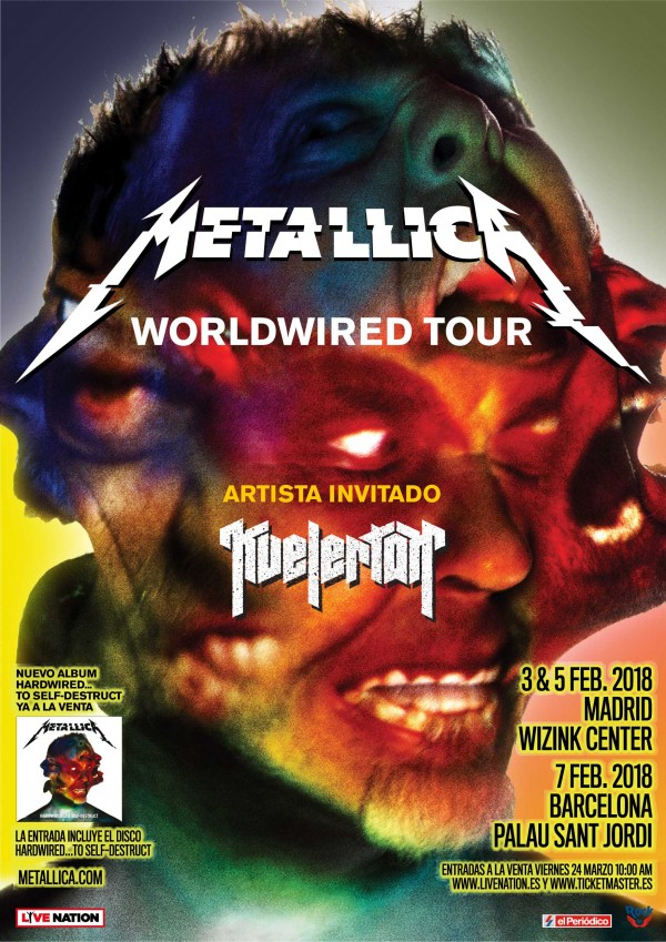 Metallica_Tour2018_Cartel