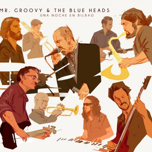 MR GROOVY AND THE BLUE HEADS – UNA NOCHE EN BILBAO