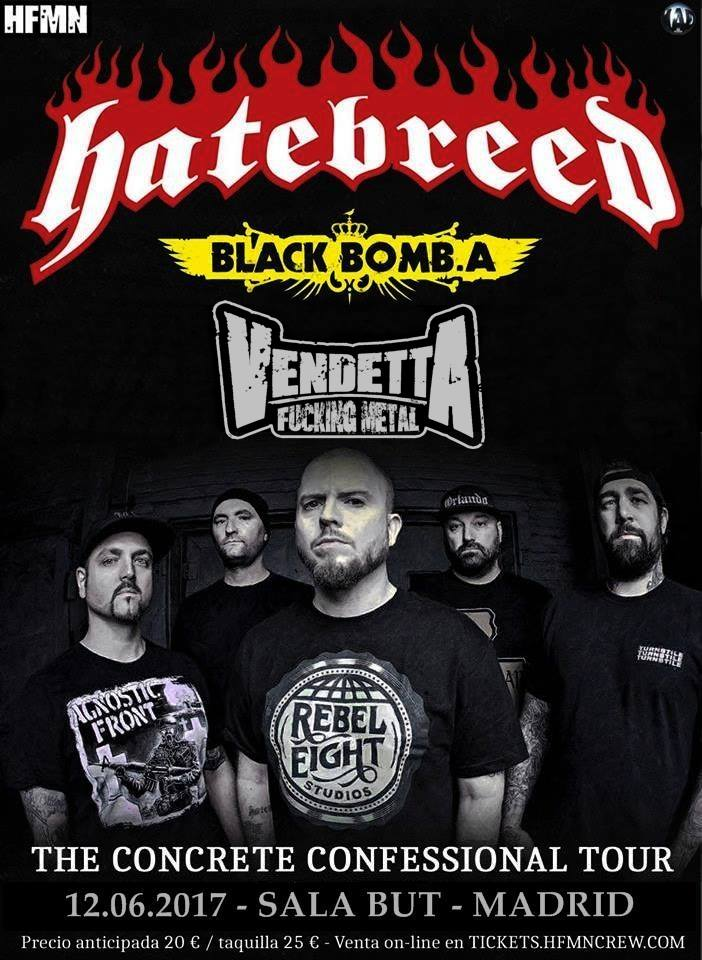 Hatebreed y VFM en Madrid