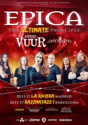 Epica_Tour2017_Cartel
