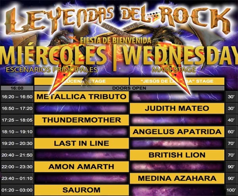 LeyendasDelRock2017_Horarios_Miércoles