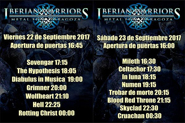 Iberian2017horarios