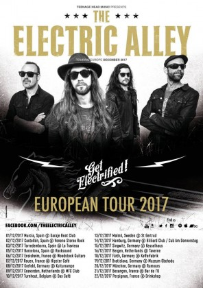 the electric alley - gira europea