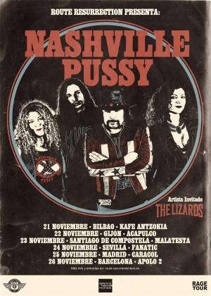 Nashville pussy gira