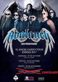 Avalanch gira 2017