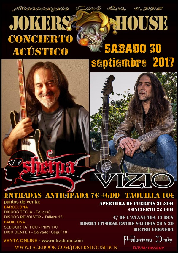 CARTEL SHERPA + VIZIO  JOKERS   17-06-2017