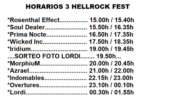 HellRockFestIII_horarios