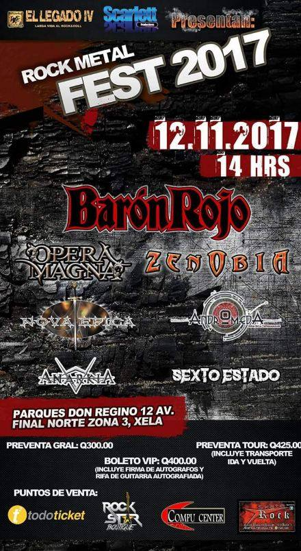 Rock Metal Fest - Guatemala