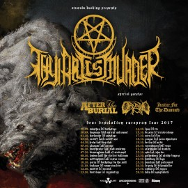 THY ART IS MURDER - DEAR DESOLATION gira