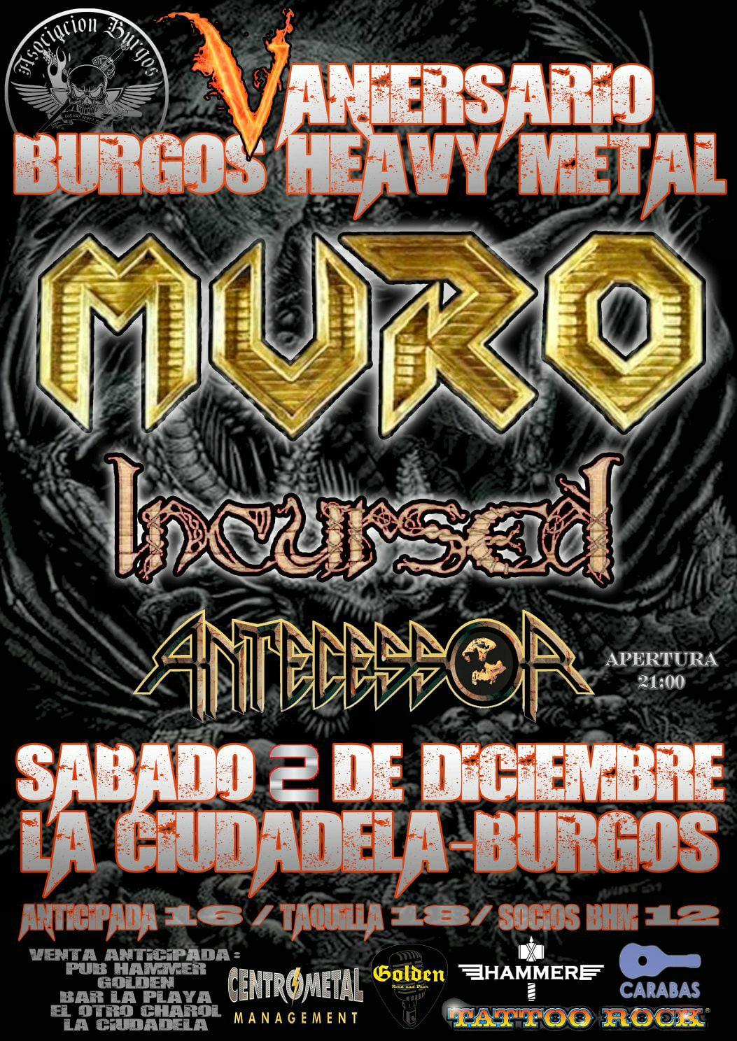 V aniversario Burgos