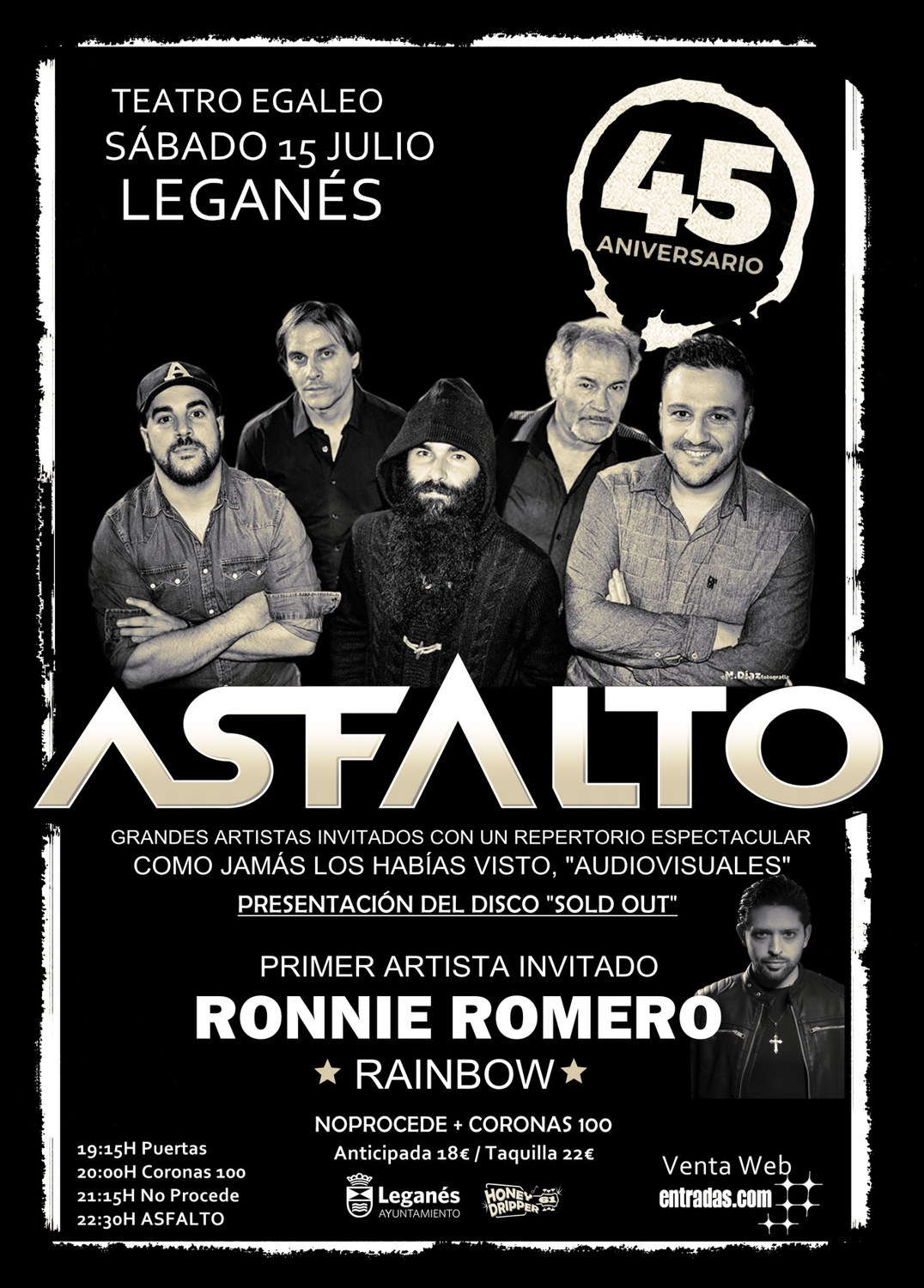 asfalto madrid