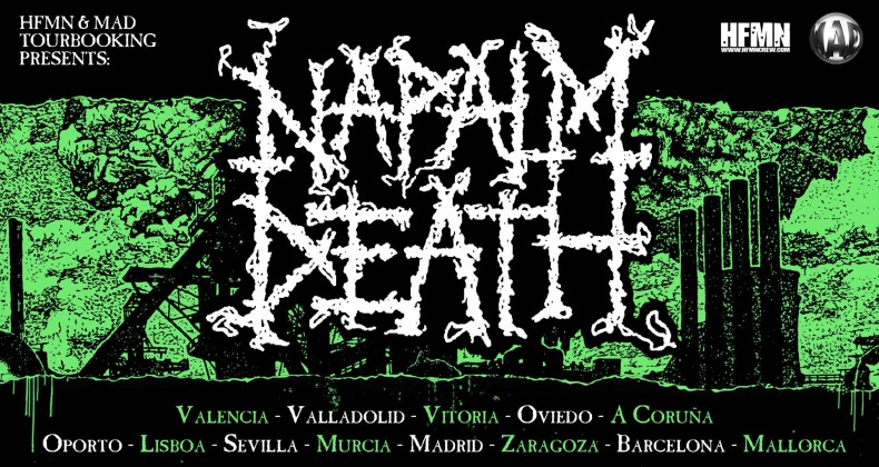 Napalm Death Gira