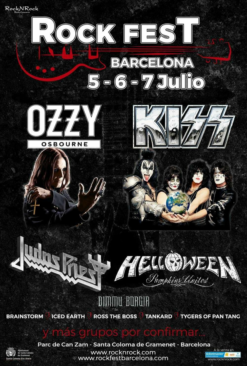 Rockfest Barcelona 2018