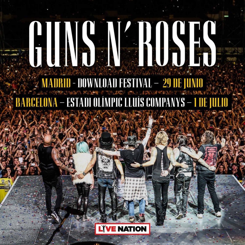 Guns N´Roses Gira 2018