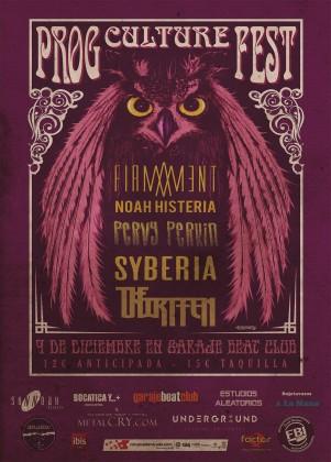 Prog Culture Fest Cartel