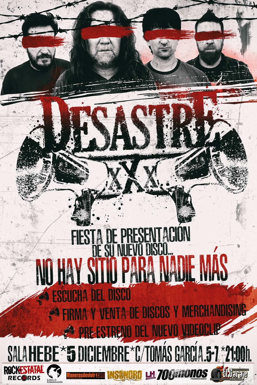 Desastre - Cartel Fiesta
