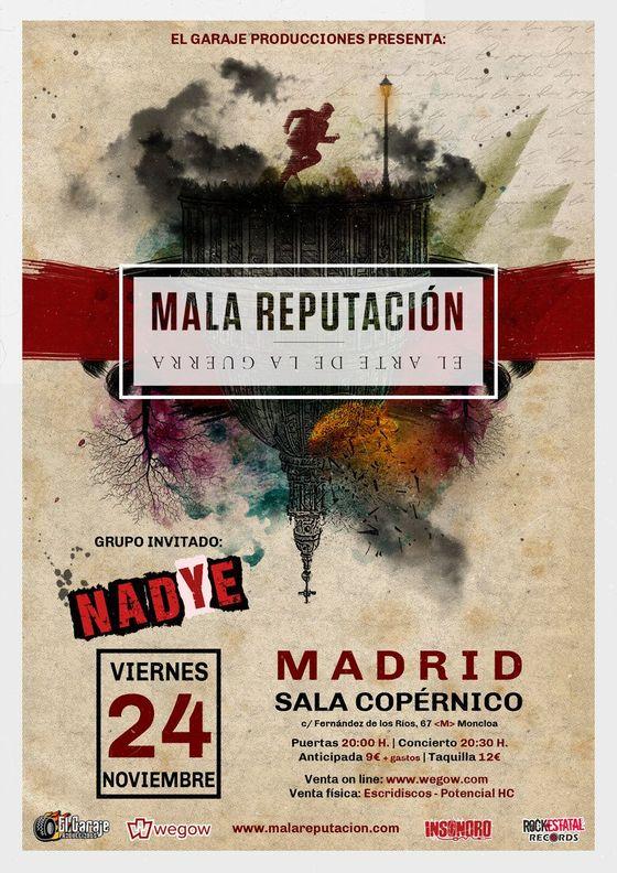 Mala Reputación - Madrid