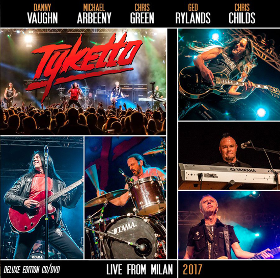 TYKETTO – LIVE FROM MILAN